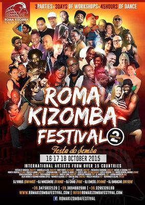Roma Kizomba Festival 2015