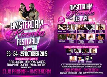 Amsterdam Kizomba Festival 2015