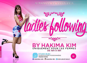 Ladies Following Kizomba di Hakima Kim - Ladies style