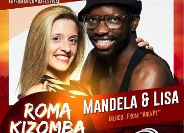 Lisa & Mandela in Roma Kizomba Festival 2015