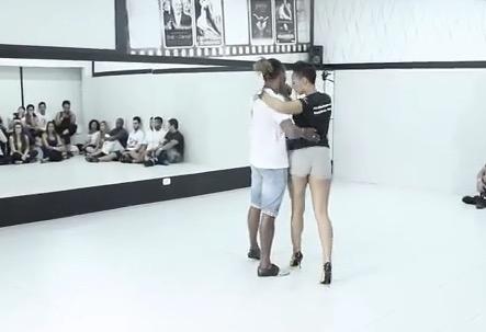 Morenasso e Anais Millon in Baila Mundo
