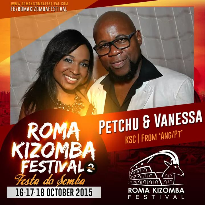 Petchu & Vanessa a Roma Kizomba Festival