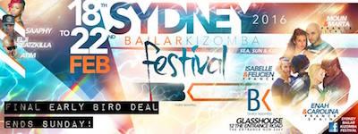 Bailar Kizomba Festival 2016 Sydney
