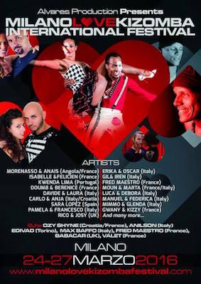 Milano Love Kizomba International Festival 2016
