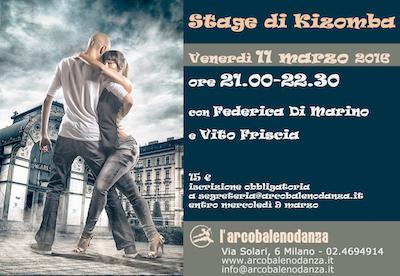 Stage Kizomba Milano