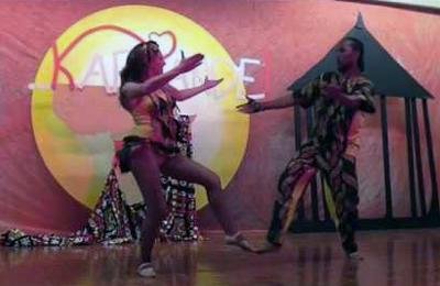 Fernando Bum Bum e Michela Fernati show a Karipande 2016