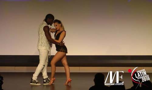 Enah & Carolina - show Kizomba SLE 2016
