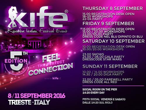 K.I.F.E. Kizomba Italian Festival Event