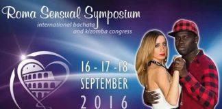 Mc Cap Chiocolatino & Luciana KizSemba a Roma Sensual Symposium 2016