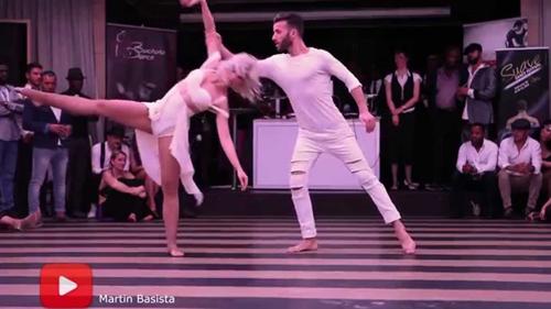 Sara Lopez & Reda - show in Bratislava