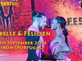 Isabelle & Felicien - Kizomba Partnerwork al Like Festival Lisbon 2016