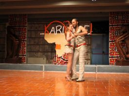 Fernando & Michela show a Karipande