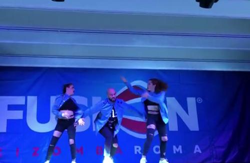 Albir Rojas & The Chicks dance Show 2017 al Fusion Kizomba Roma
