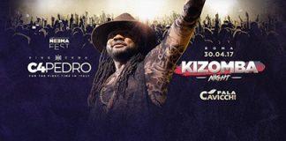 C4 Pedro in concerto a Roma