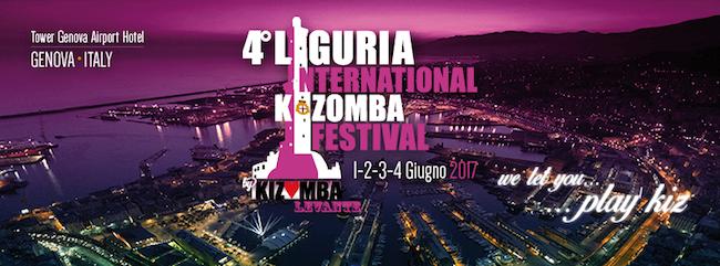 Liguria International Kizomba 2017: dal 1 al 5 giugno a Genova la 4° edizione