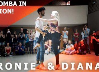 Ronie Saleh & Diana Urban dance demo sulle note di Gravity