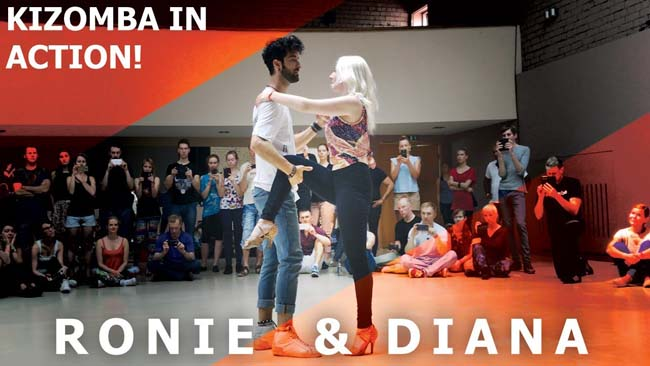 Ronie Saleh & Diana Urban dance demo sulle note di Gravity