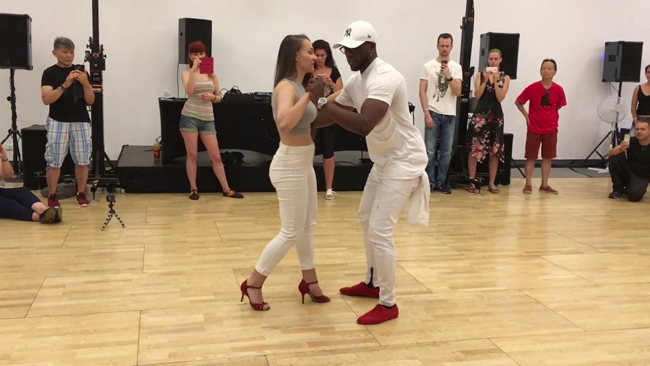 Chamalo & Myrthe Urbankiz Dance @ KizzMe More Festival 2017