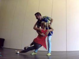 Joao & Giendre workshop semba
