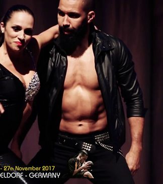 Nuno & Vanda kizomba show all'Euro Salsa & Sensual Festival 2016
