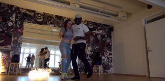 Pat & Karine amazing semba show a Kiz DJ 48 Oslo 2017