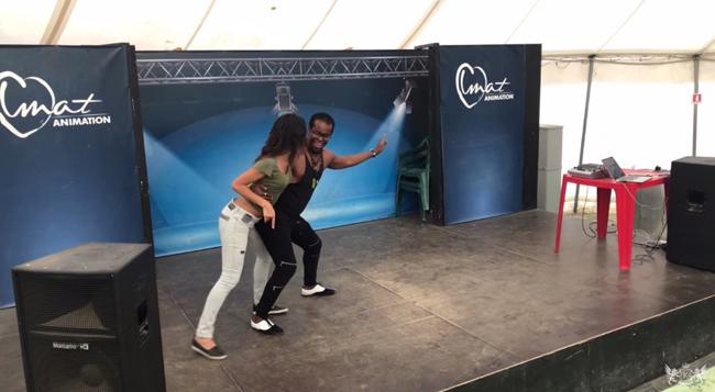 Ricardo Garçia, Cool Semba Dance Tricks & Lifts Inside a Follonica 2017