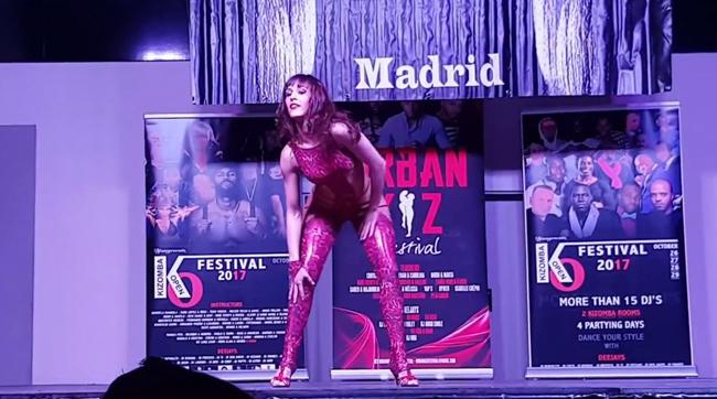 Sara Panero - Lady Style Show al Feeling Kizomba di Madrid 2017
