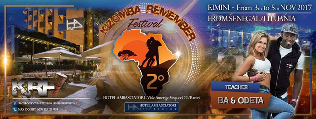Ba & Odeta workshop in Remeber Kizomba Festival 2017