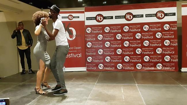 Mister Tecas & Miss Jo workshop semba al Kizomba Open Festival 2017