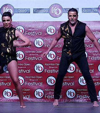 Ouzin & Ariella show a Kizomba Open Festival 2017