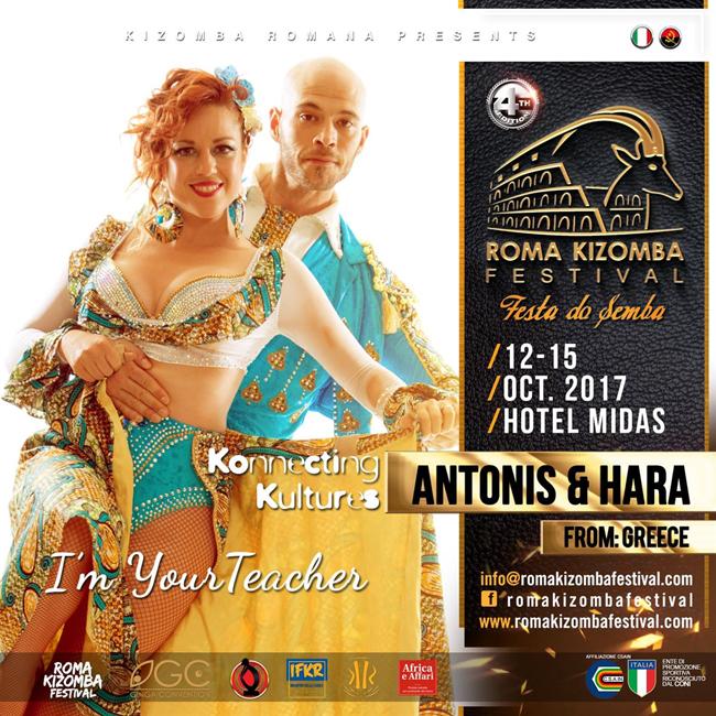 Antonis e Hara show a Roma Kizomba Festival 2017