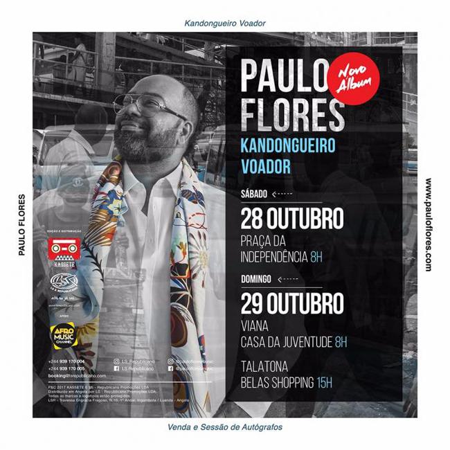 Paulo Flores - Kandongueiro Voador