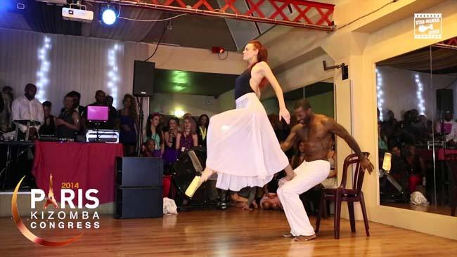 Tony Pirata & Sophie Fox showtime al Paris Kizomba Festival 2014