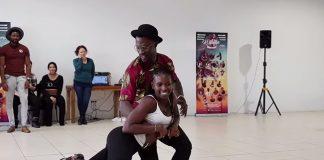 Tyron & Rokhaya workshop semba a All In Kizomba Festival 2017