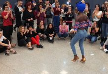 Eliza workshop kizomba lady style al Kizmi 2017
