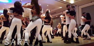 Sara Lopez & Reda Becili show in Kizomba Challenge Mexico
