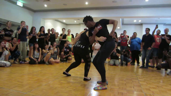 Eddy Vents & Lucia workshop all'Awake Festival 2018