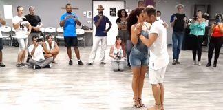 Kristofer & Kimberley, workshop kizomba fusion a Nouméa