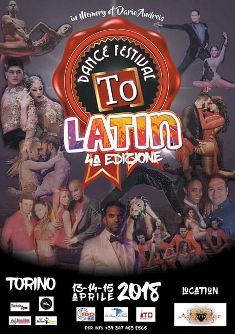 To Dance Latin Festival 2018