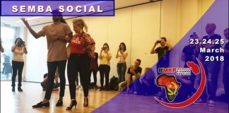 Akram e Victoria stage semba social al MKF 2018