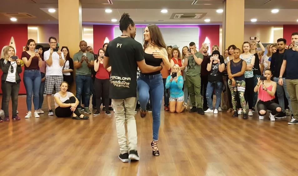 Py (Pierre-Yves) & Sarah stage a Barcelona Temptation Festival 2018