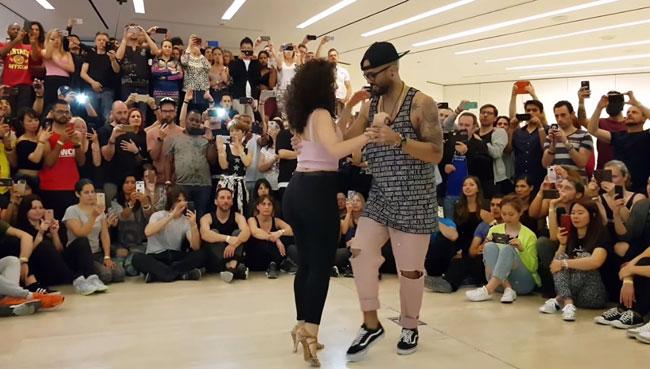 Albir & Laura Pmr musicality al Feeling KIzomba Festival 2018