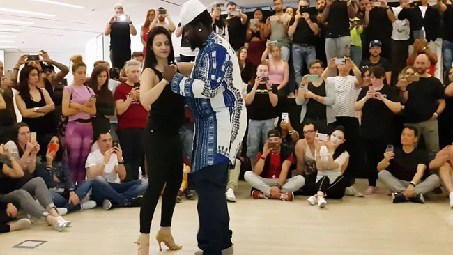 Willy Dianza & Arancha stage al Feeling Kizomba Festival 2018