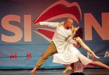 Kizomba romantica show Edo & Denise Roma