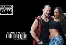 Isabelle & Felicien workshop Kizomba Korea