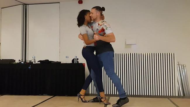 kizomba ballo Isabelle & Felicien