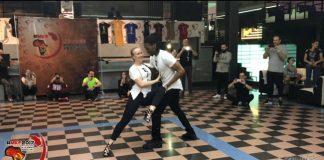 Jojo & Mickaela workshop kizomba trick MKF 2017