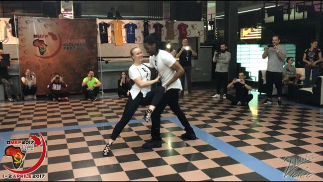 Jojo & Mickaela workshow kizomba trick MKF 2017