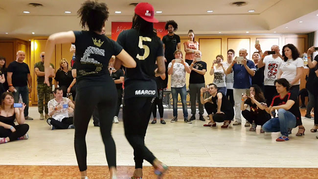 Mais Kizomba Marcio & Maya workshop Karipande 2018