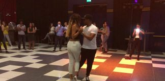 Renna & Lau stage urban kiz a Kizomba Temptation Weekend
